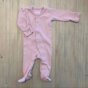 L'ovedbaby | Dusty Pink Organic Cotton Sleeper